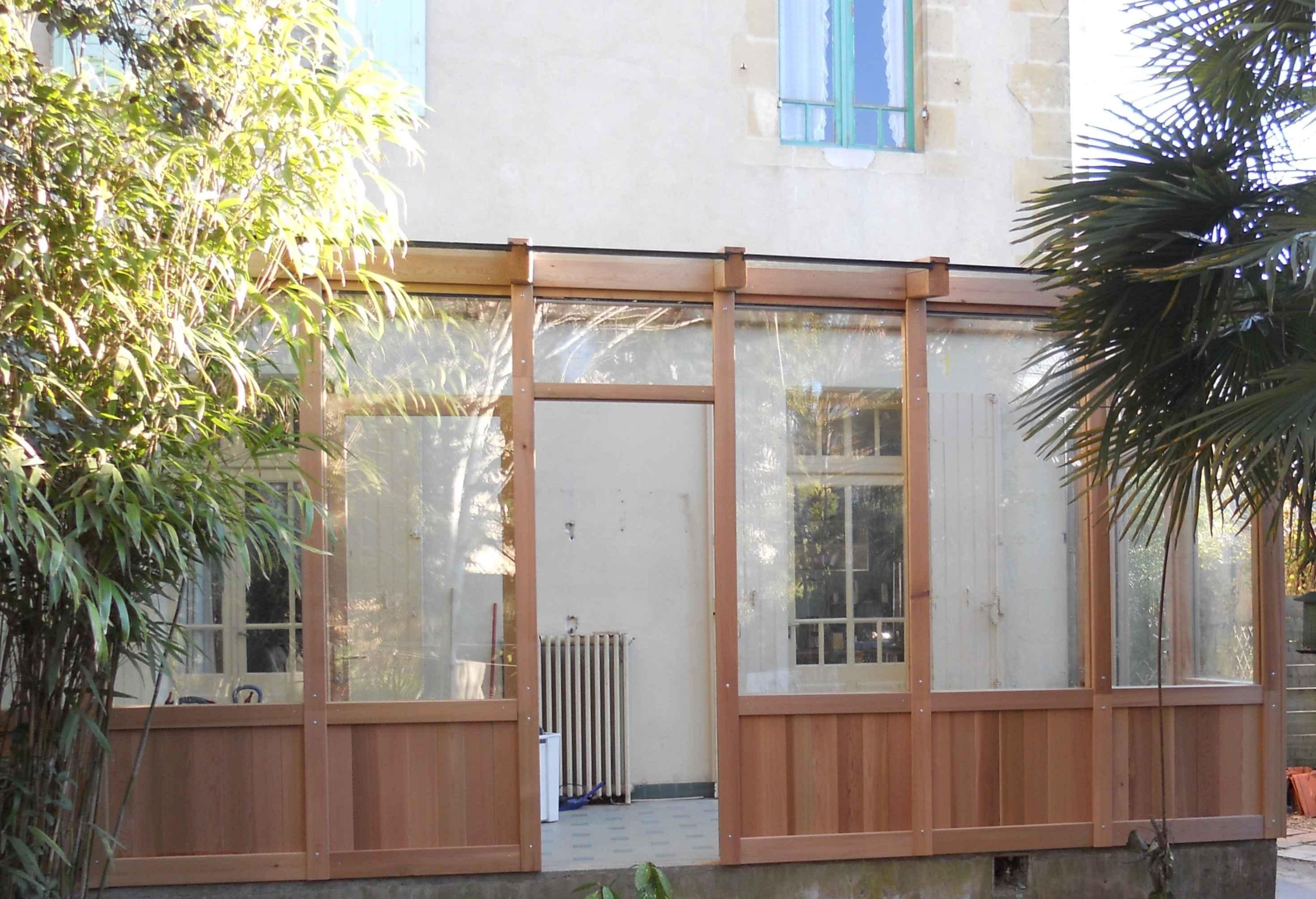 Fabulous Carport bois fait maison UW74